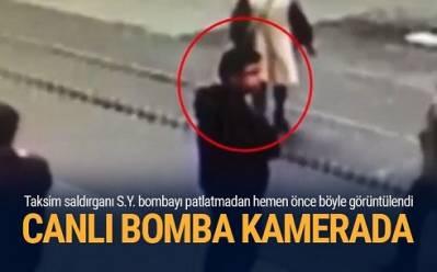 İstanbulu partladan terrorçunun görüntüsü - Yeni faktlar (VİDEO)